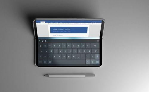 Surface Phone con pantalla flexible