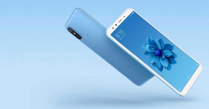 Xiaomi Mi A2 azul