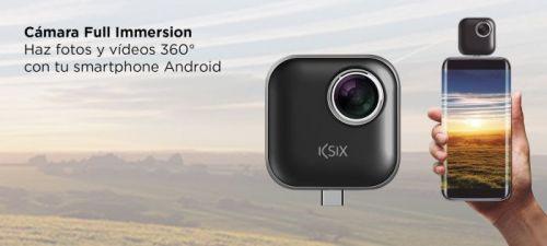 Review cámara 360 grados de Ksix