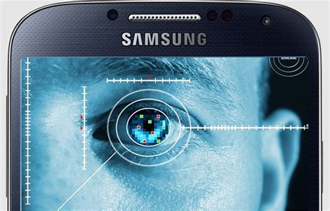 Escaner de iris para los Samsung baratos
