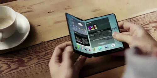 Samsung y su móvil plegable como una tablet de bolsillo