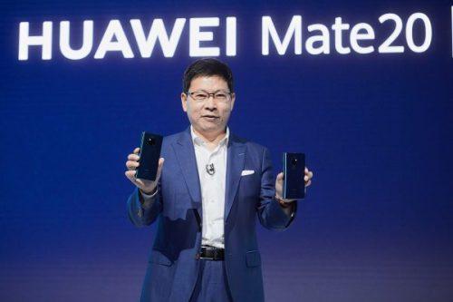Huawei no venderá su serie Mate 20 en Estados Unidos
