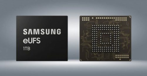 Samsung comienza a fabricar chips de 1TB de memoria para smartphones