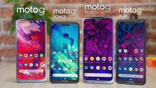 Los Moto G7 ya son oficiales, te mostramos sus características y precios