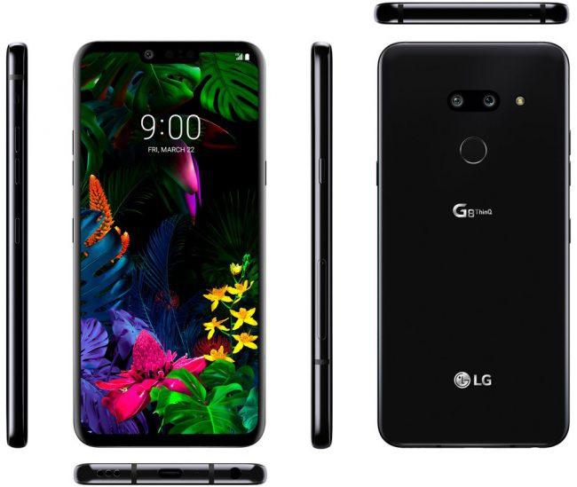 LG G8 ThinQ filtrado