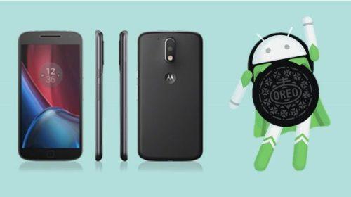 Motorola Moto G4 Plus ha comenzado a recibir Android 8.1 Oreo