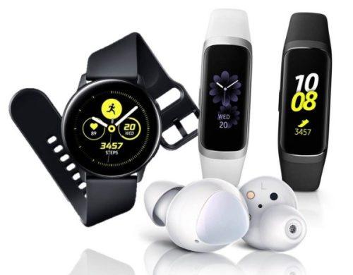 Nuevos wearables de Samsung: Galaxy Buds, Galaxy Watch Active y Galaxy Fit