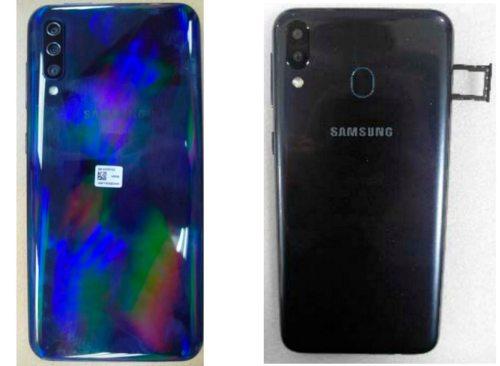 Samsung Galaxy A30 y A50