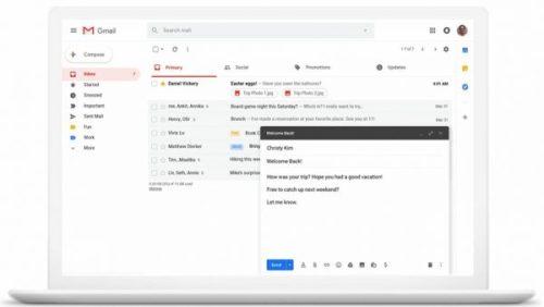 Gmail ya permite enviar automáticamente correos programados
