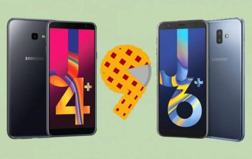Samsung Galaxy J4+ y J6+ comienzan a recibir Android 9 Pie con One UI