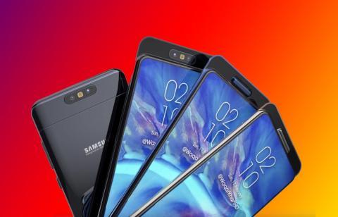 Samsung Galaxy A90 se ha filtrado con grandes características