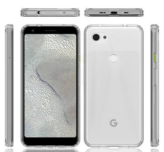 Google Pixel 3A XL diseño en blanco