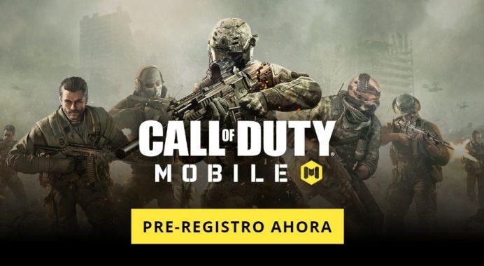 Call of Duty Mobile en Android iOS preinscripción Beta