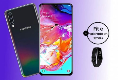 Samsung Galaxy A70 ya está disponible en España con oferta incluida