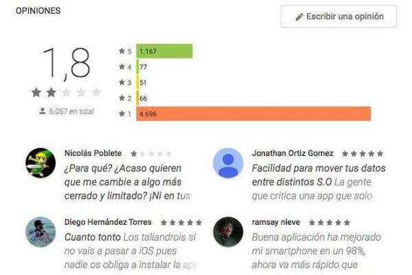 Consejos para no descargar malware Google Play Store Opiniones