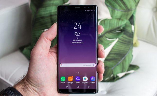 Parche de seguridad de junio 2019 Galaxy Note 8