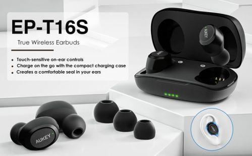 Auriculares inalámbricos Aukey EP-T16S + descuento