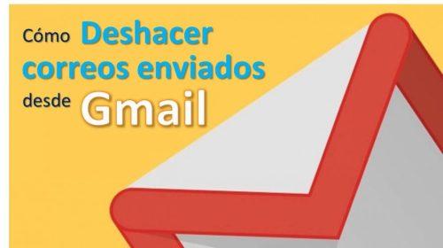 Cómo deshacer correos enviados desde Gmail (2019)