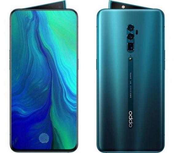 Mejores teléfonos con lectores de huellas Oppo Reno 10X Zoom Edition
