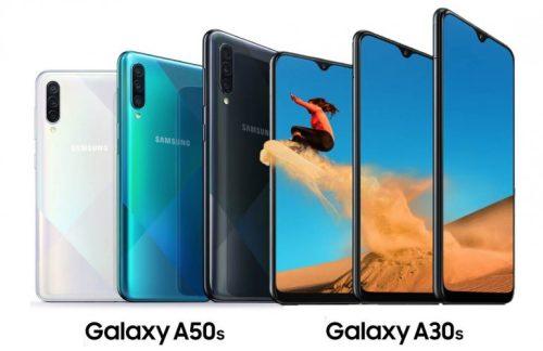 Samsung Galaxy A50s y A30s son oficiales: triple cámara y batería grande