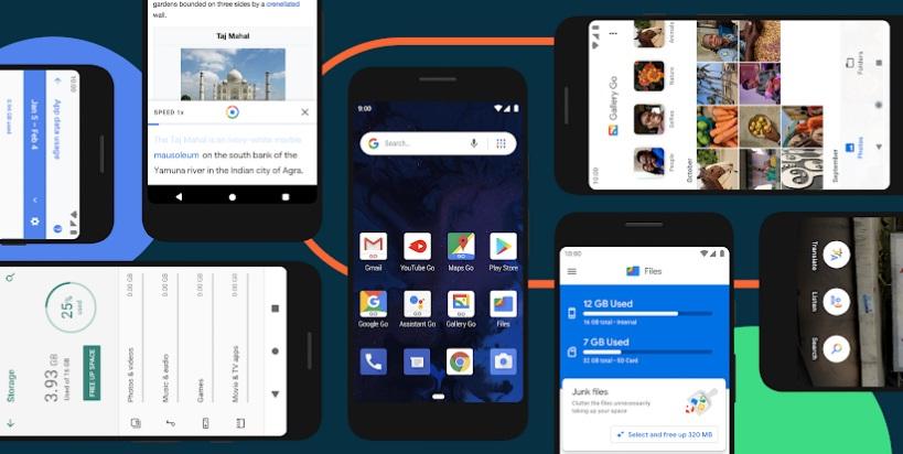 Android 10 Go Edition características