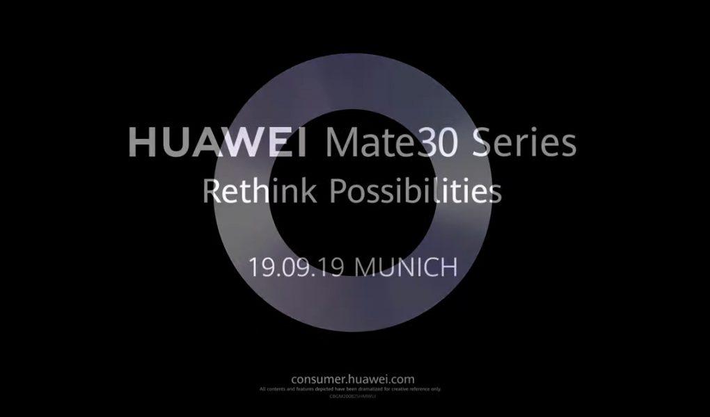 Huawei Mate 30 características