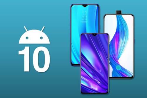 Realme con Android 10: estas son las fechas de actualización