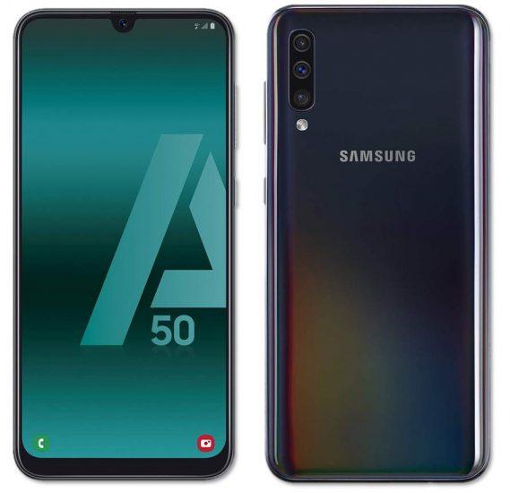 Teléfonos Samsung en ofertas Galaxy A50