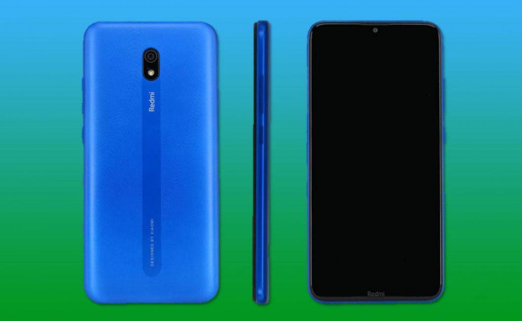 Xiaomi Redmi 8A TENAA característica y diseño