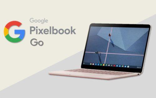 Pixelbook Go: portátil con diseño acanalado y opciones de configuración