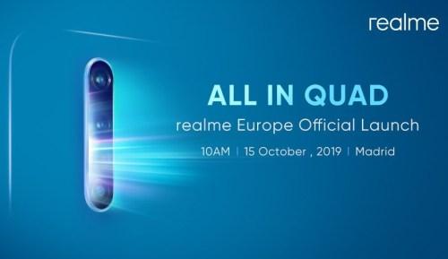 Realme X2 Pro: revelada fecha de lanzamiento en simultáneo con Europa