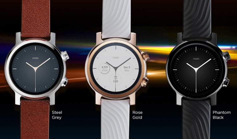 Smartwatch Moto 360 tercera generación características