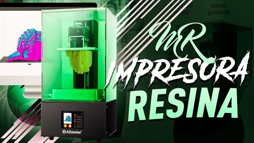 Impresora 3D de resinaAlfawise W10