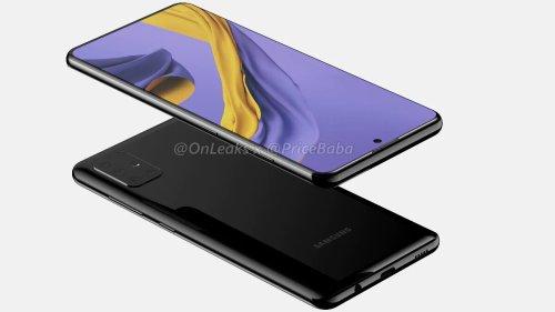 Nuevo render del Samsung Galaxy A51, y llega con nuevo diseño