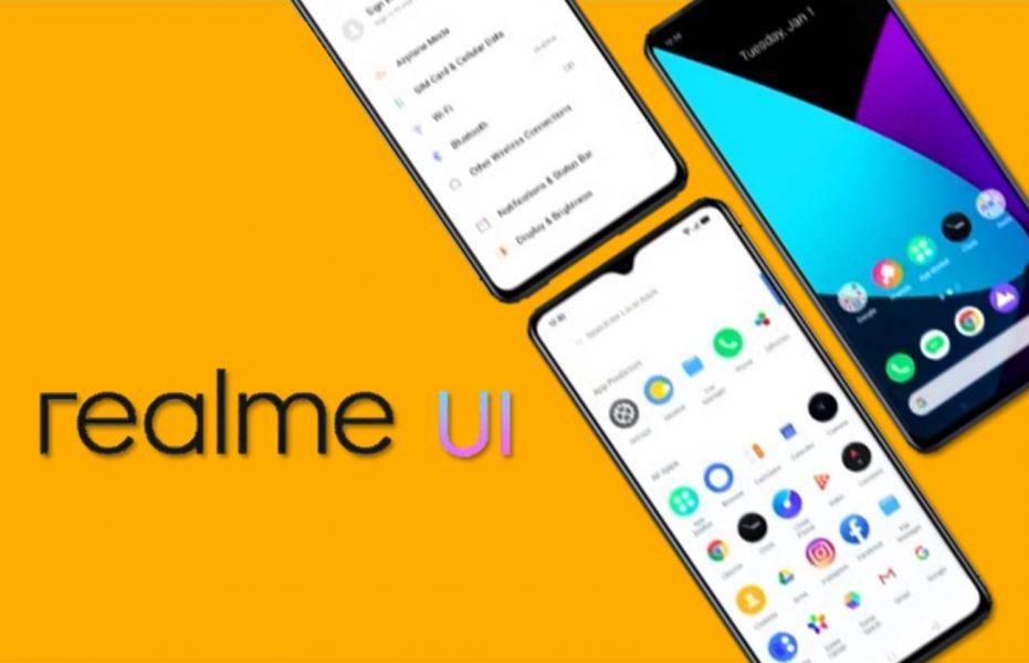 Realme UI basado en Android 10