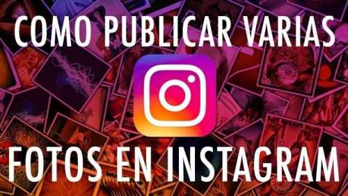 Subir varias fotos a Instagram Stories