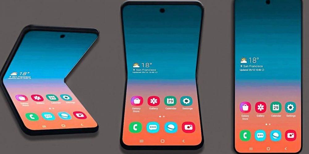 Móvil plegable Galaxy Z Flip presentación