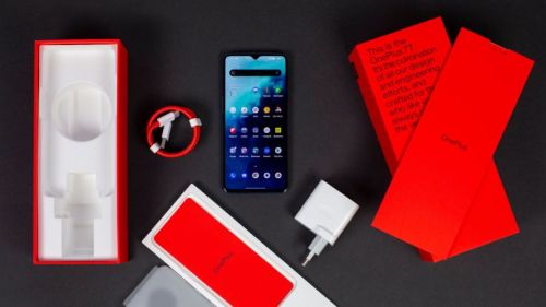 OnePlus 7T con sensor de huellas en pantalla