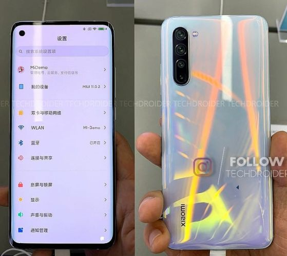 Xiaomi Mi 10 filtrado con 5 camaras