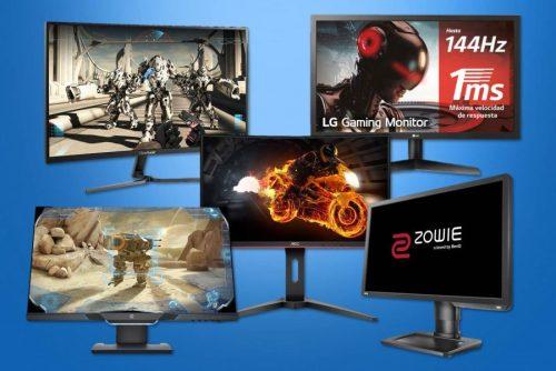 Los mejores monitores de 144Hz para PC