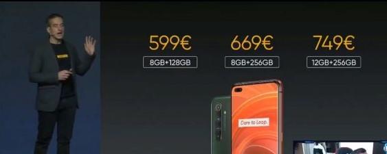 Realme X50 Pro 5G-precios