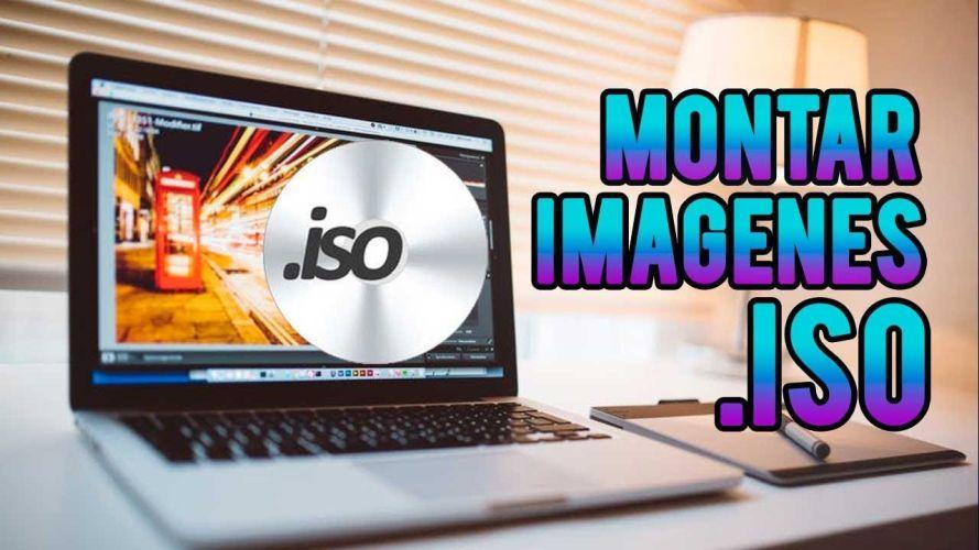 montar imagen ISO