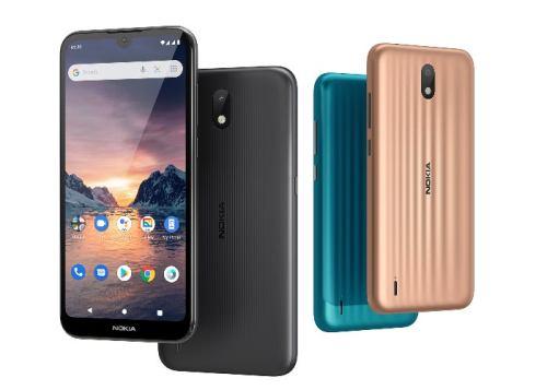 Nokia 1.3 un dispositivo contenido, pero con Android Go 10