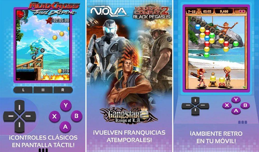 App Gameloft Classics 20 años Google Play