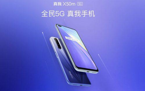 Características Realme X50m 5G: nuevo gama media premium económico