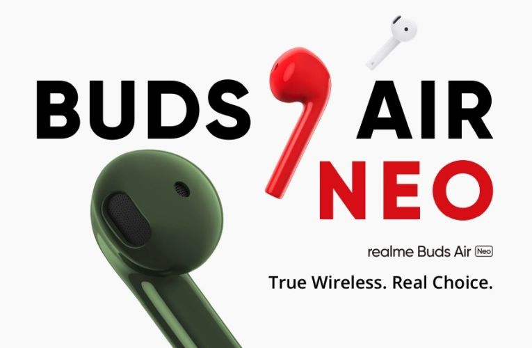 Realme X3 Superzoom-Realme Air Buds Neo