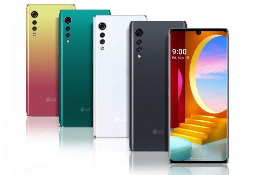 Smartphone LG Velvet especificaciones y precio