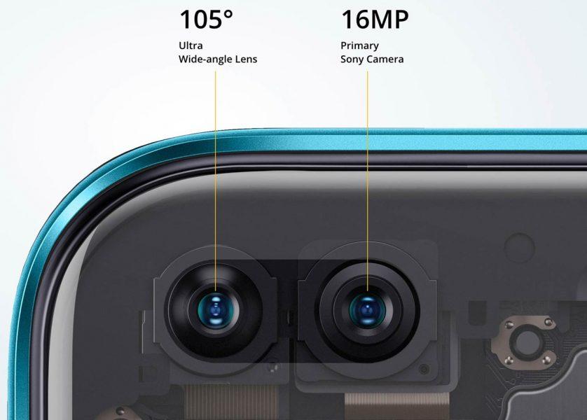 Características del Realme X3, cámaras