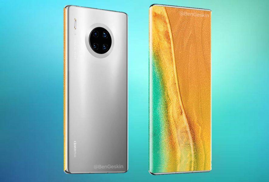 Huawei cámara bajo la pantalla.
