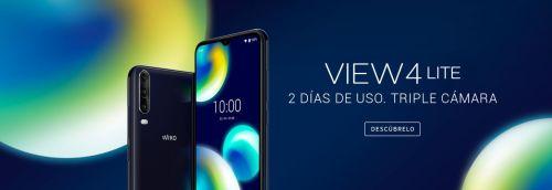 Wiko View 4 Lite: gran autonomía a bajo precio